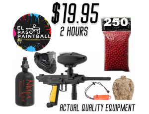 El Paso Paintball prices